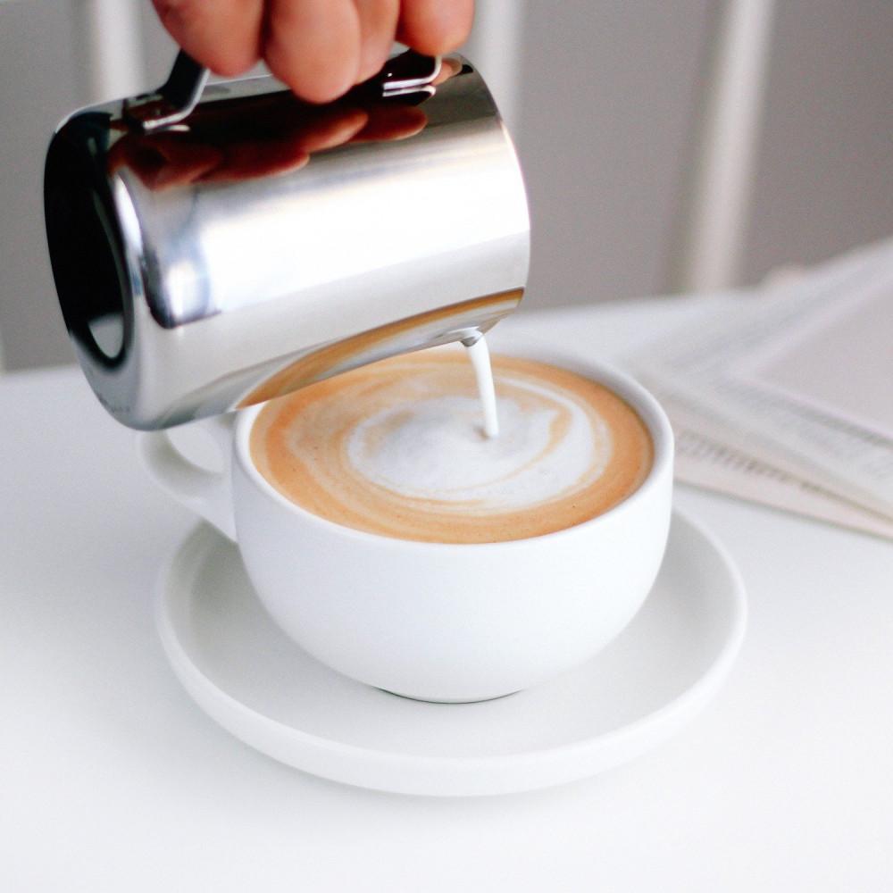 أكواب لاتيه كوب مع صحن كابتشينو أدوات القهوة المختصة ديكور ركن القهوة