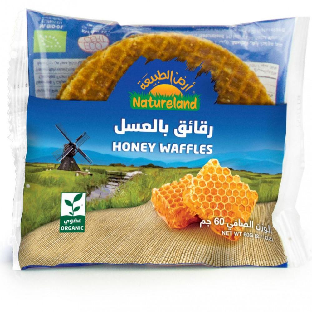 رقائق بالعسل عضوي 60 جرام