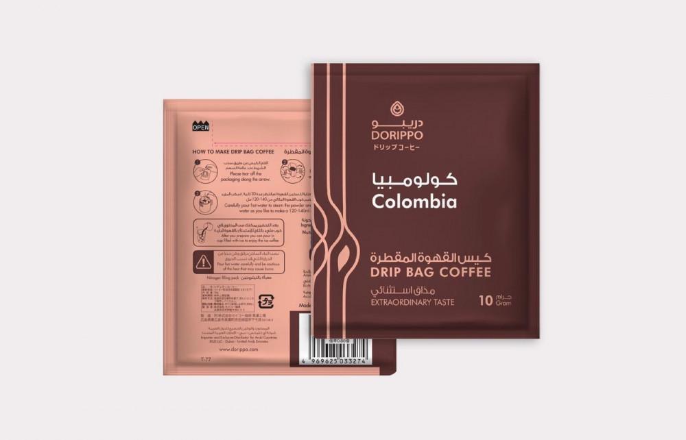 قهوة مقطرة يابانية دريبو كولومبيا سناك هوب
