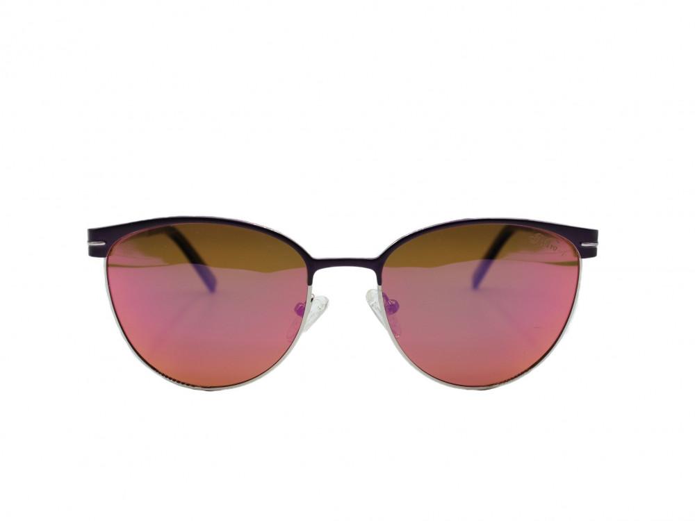 نظارة شمسية تصميم العدسه مربع من ماركة Retro اللون بنفسجي رجالية 2021
