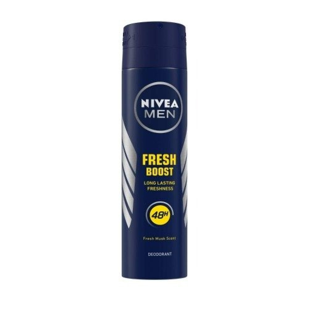 Nivea Men Fresh Boost Quick Dry Deodorant Spray 150ml