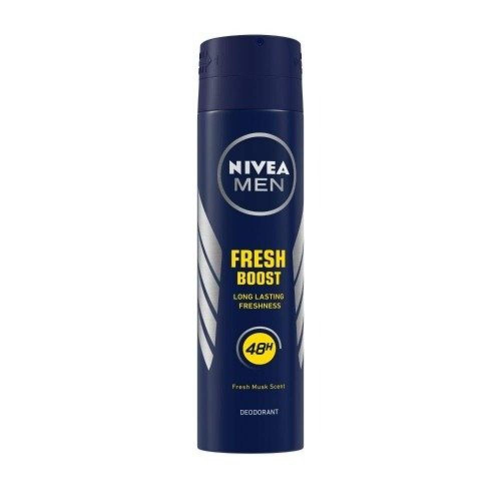 Nivea Men Fresh Boost Quick Dry Deodorant Spray 150ml