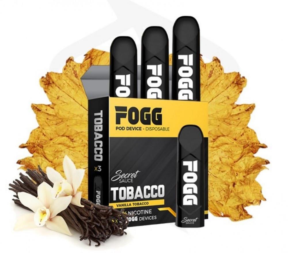 FOGG TOBACCO SaltNic سحبة فوج توباكو
