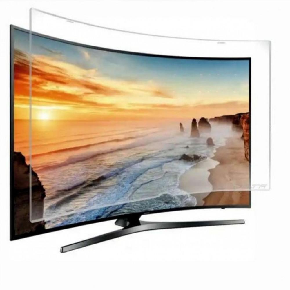 واقي حماية شاشة التلفزيون شاشة LCD LED من التلف والخدوش  منحنيه