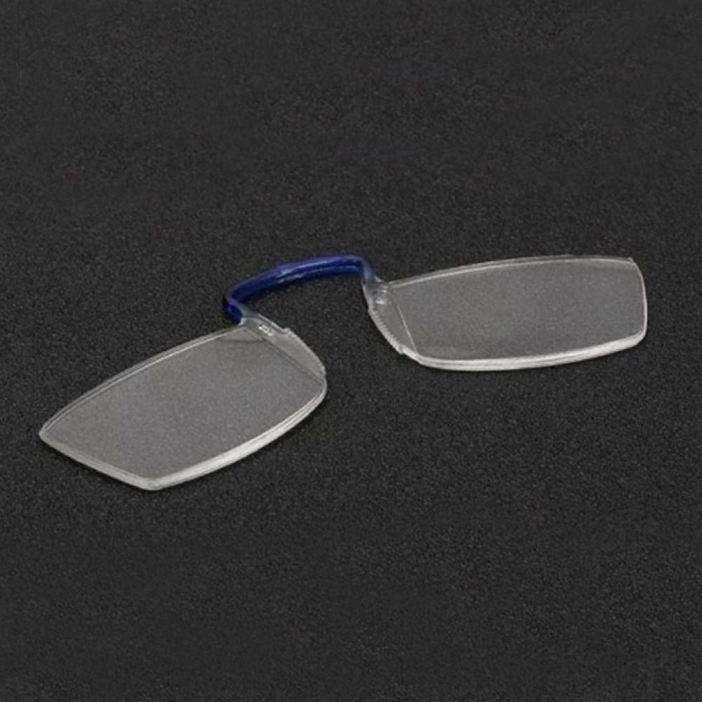 نظارة قراءة رقيقة وغير متعبة بحملها  تثبت خلف هاتفك الجوال نظارة التكب