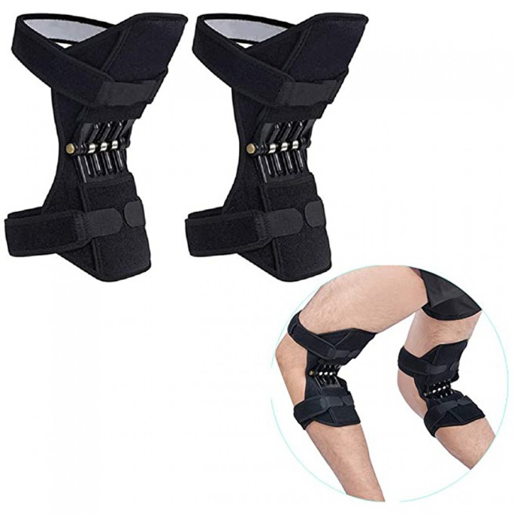 زوج من جهاز دعم الركبة ومفاصل الركبة وحماية الركبة لكبار السن