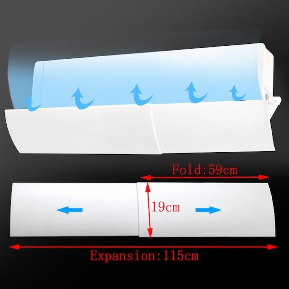 موزع هواء مكيف سبلت لتعديل تدفق الهواء موجه هواء مكيف سبلت قابل للتعدي