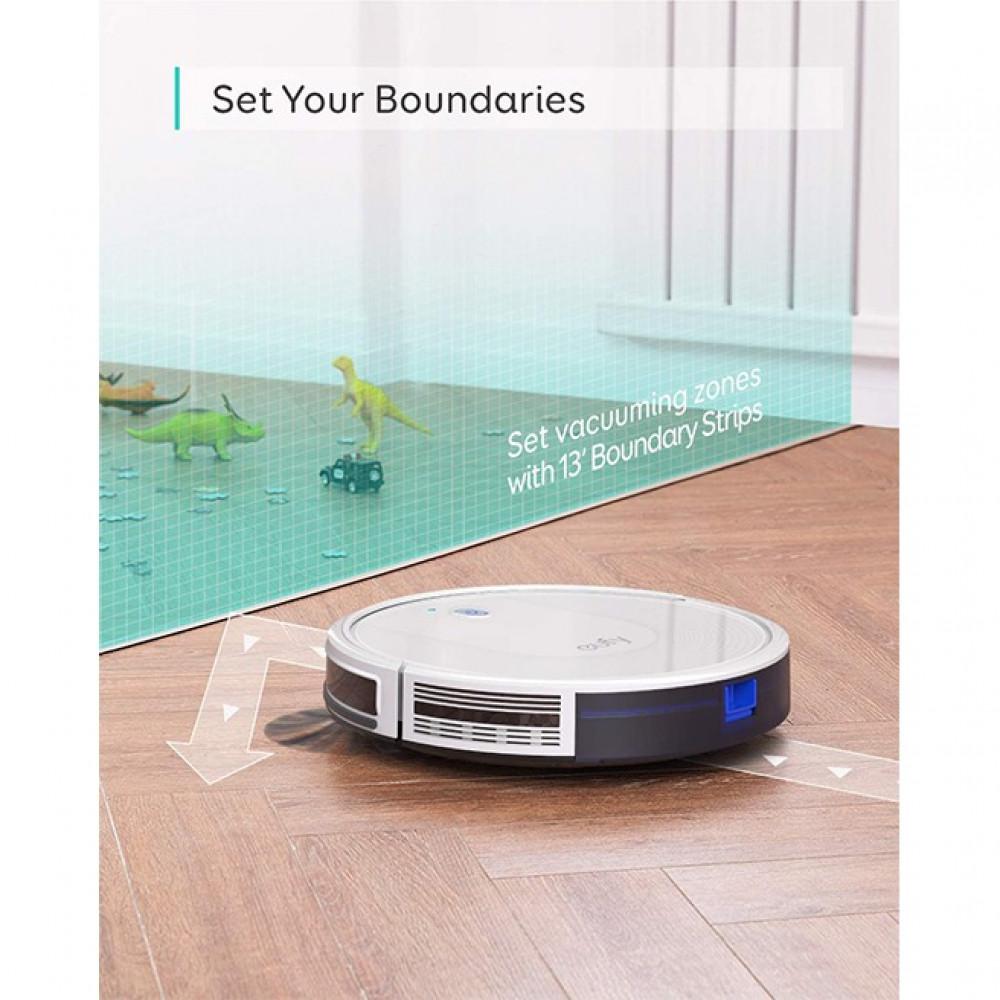 مكنسة كهربائية روبوتية هادئة سهلة الاتصال بالواي فاي عن طريق التطبيق