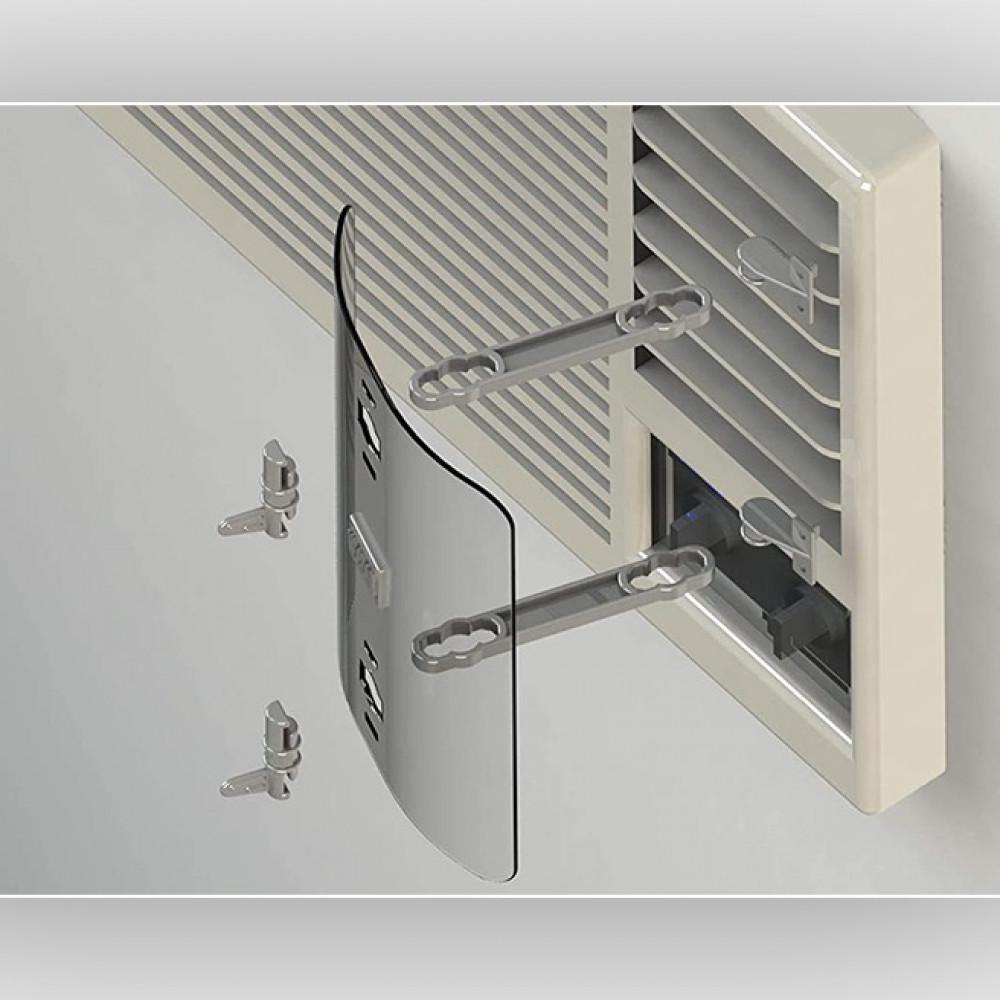 موزع و موجه هواء مكيف شباك Window