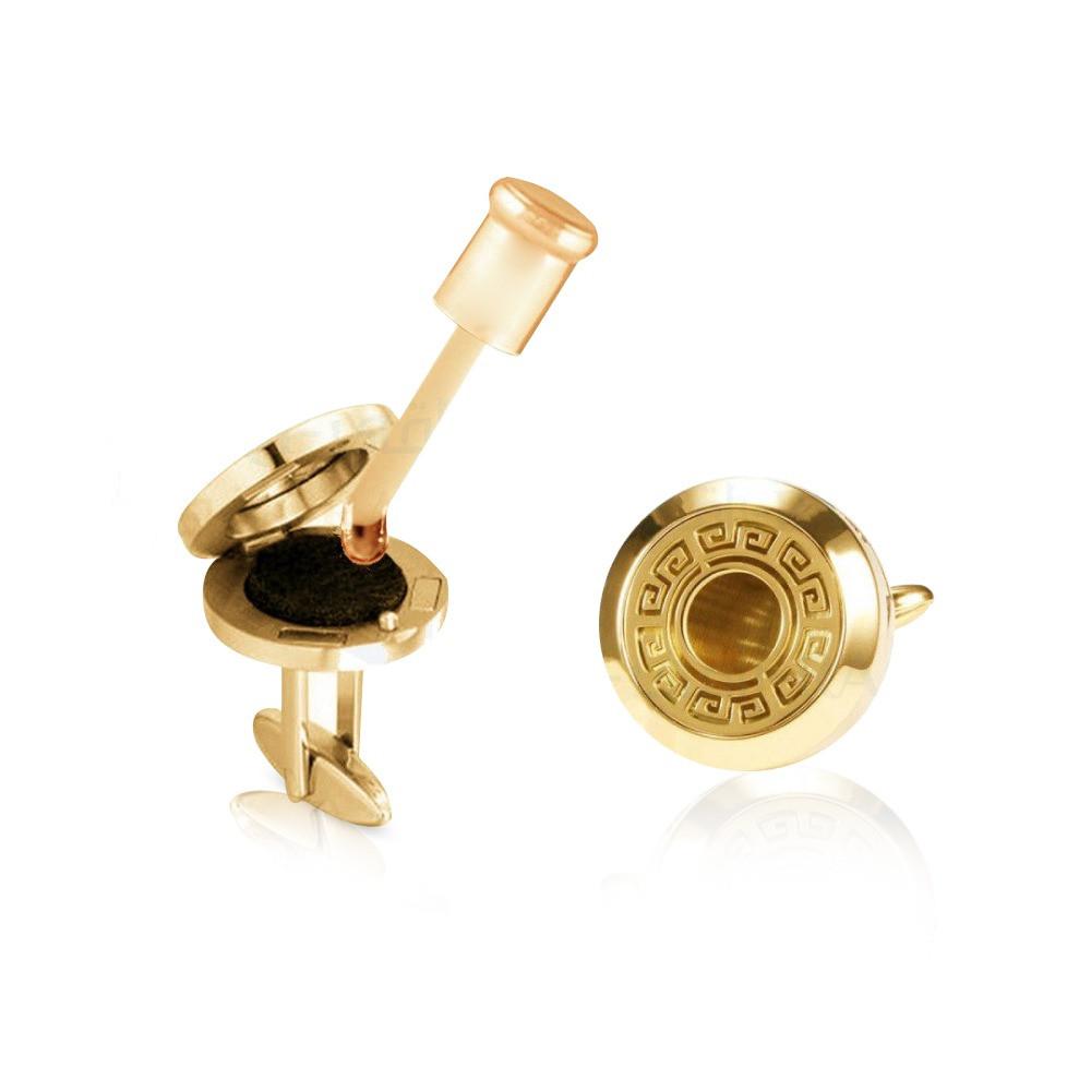 كبك دهن العود الفواح بعطرك الخاص بتصميم مميز يتوفر باللون الذهبي