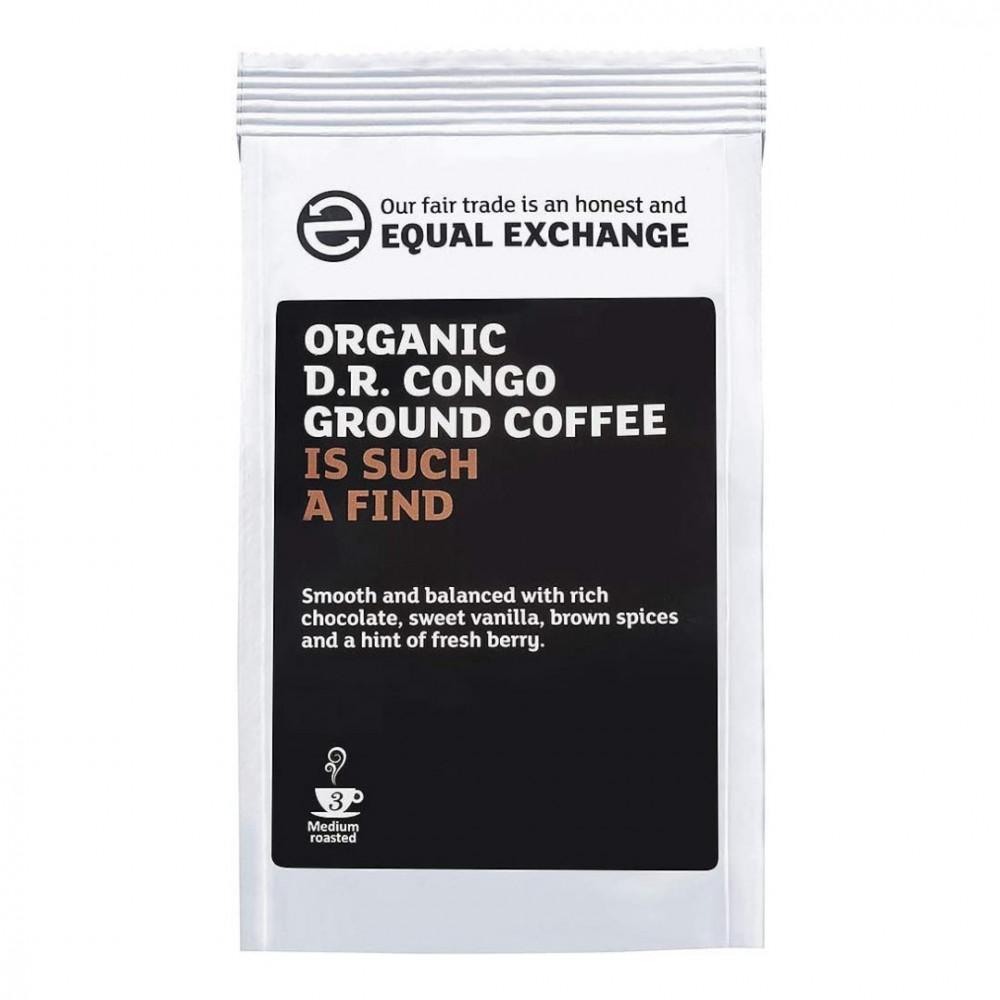 قهوة ايكول اكسشينج كونغو مطحونة Equal Exchange