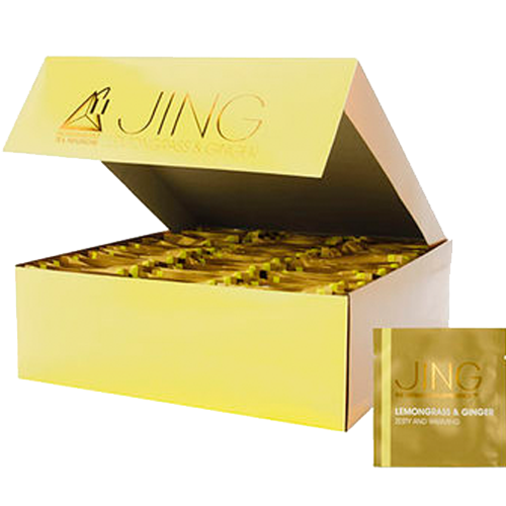 شاي جينغ بالليمون والزنجبيل Jing Tea lemongrass Ginger