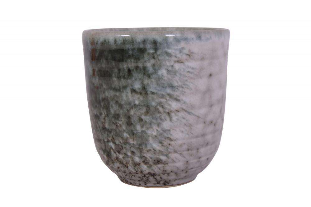 كوب سيراميك اخضر بيج 200 مل vaso