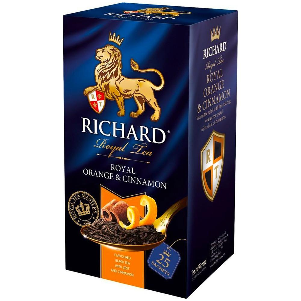 شاي البرتقال والقرفة ريتشارد  Orange Cinnamon Richard Tea