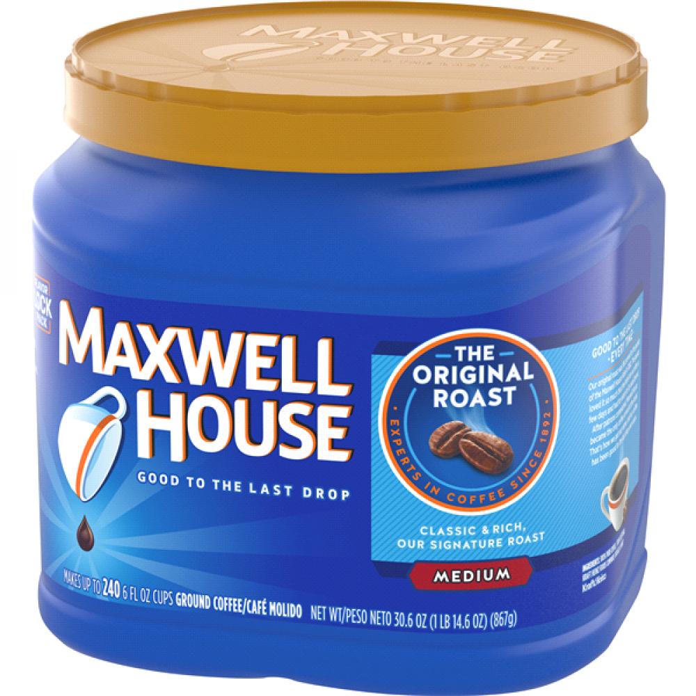 قهوة ماكسويل هاوس الاصلية اوريجنل متوسطة التحميص وسط قهوة امريكية