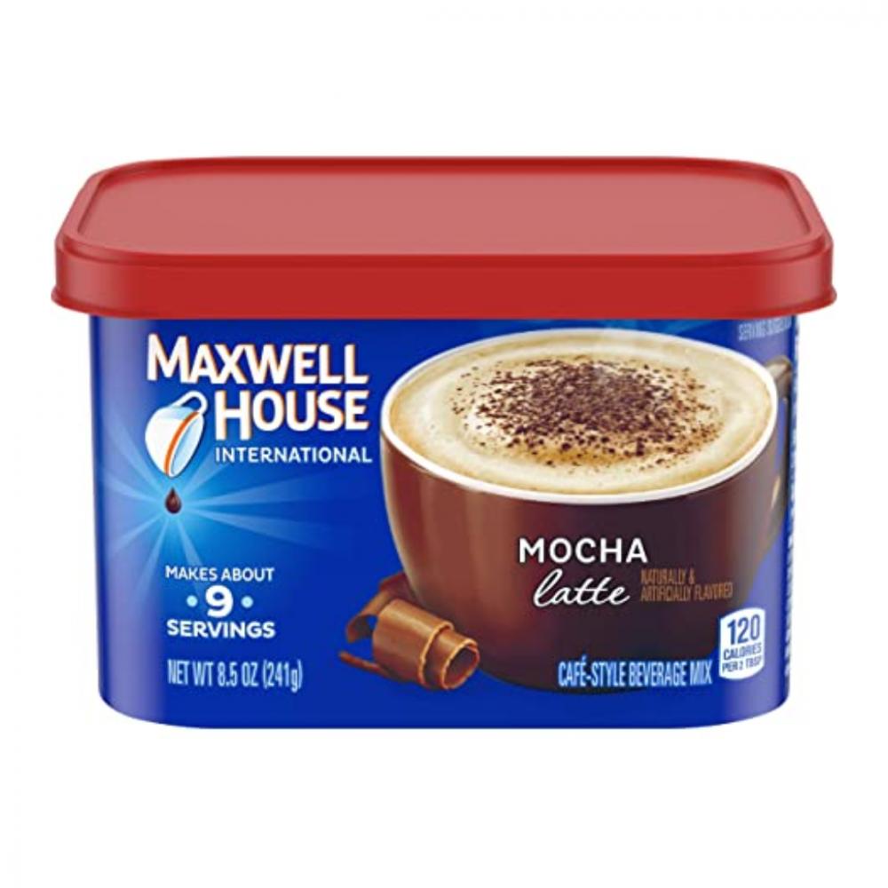 ماكسويل هاوس موكا لاتيه قهوة فورية maxwell house mocha latte instant
