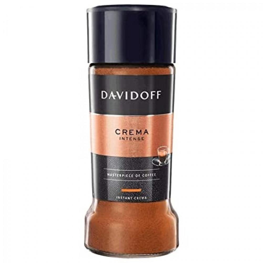 قهوة دافيدوف كريما انتينس قهوة فورية سريعة التحضير