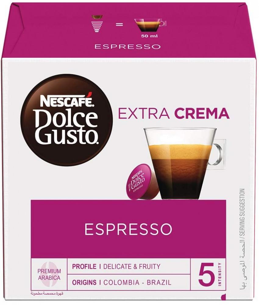 كبسولات نسكافيه دولشي غوستو اسبريسو nescafe dolce gusto espresso