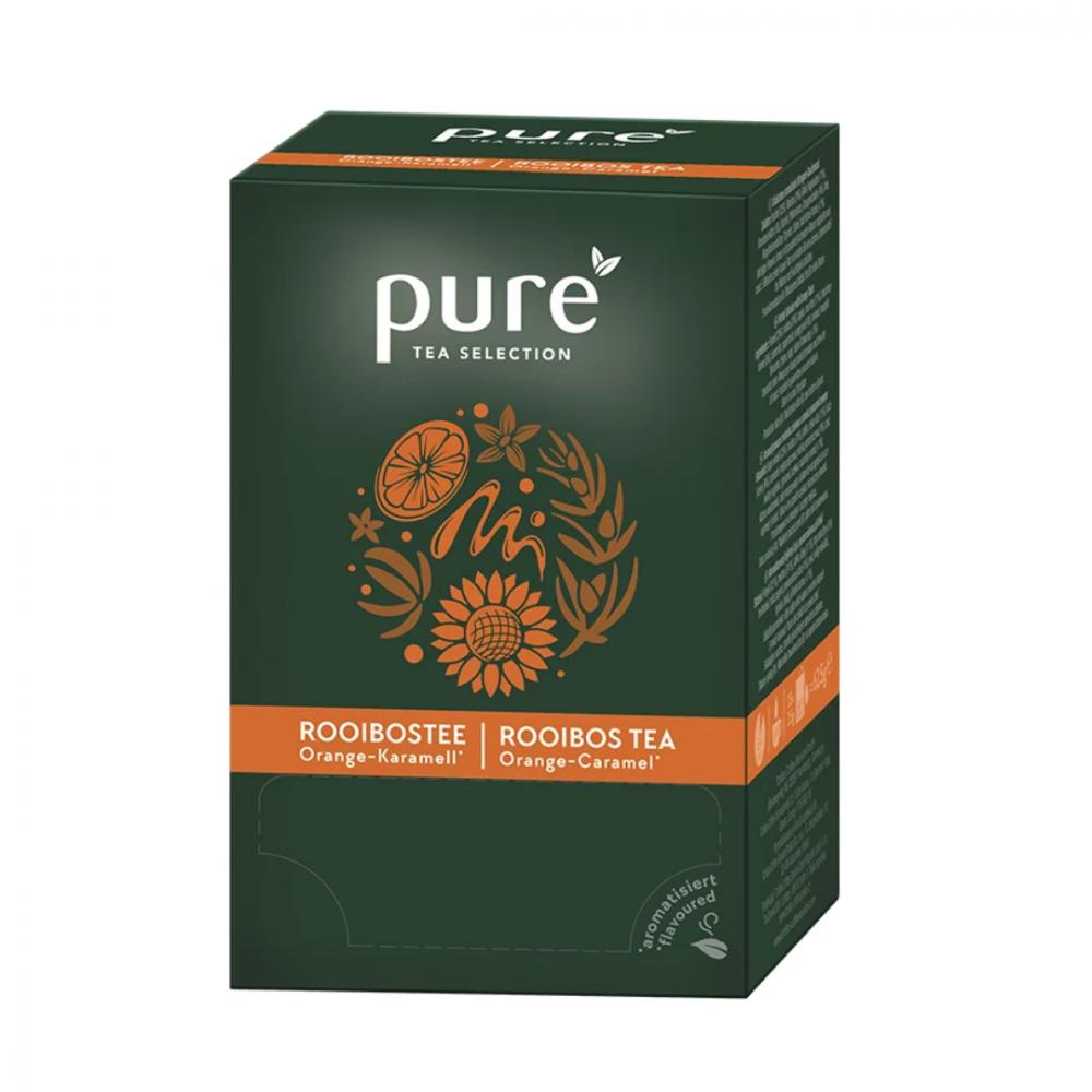 شاي بيور المرامية والبرتقال والكراميل Pure Tea Rooibos Orange Caramel