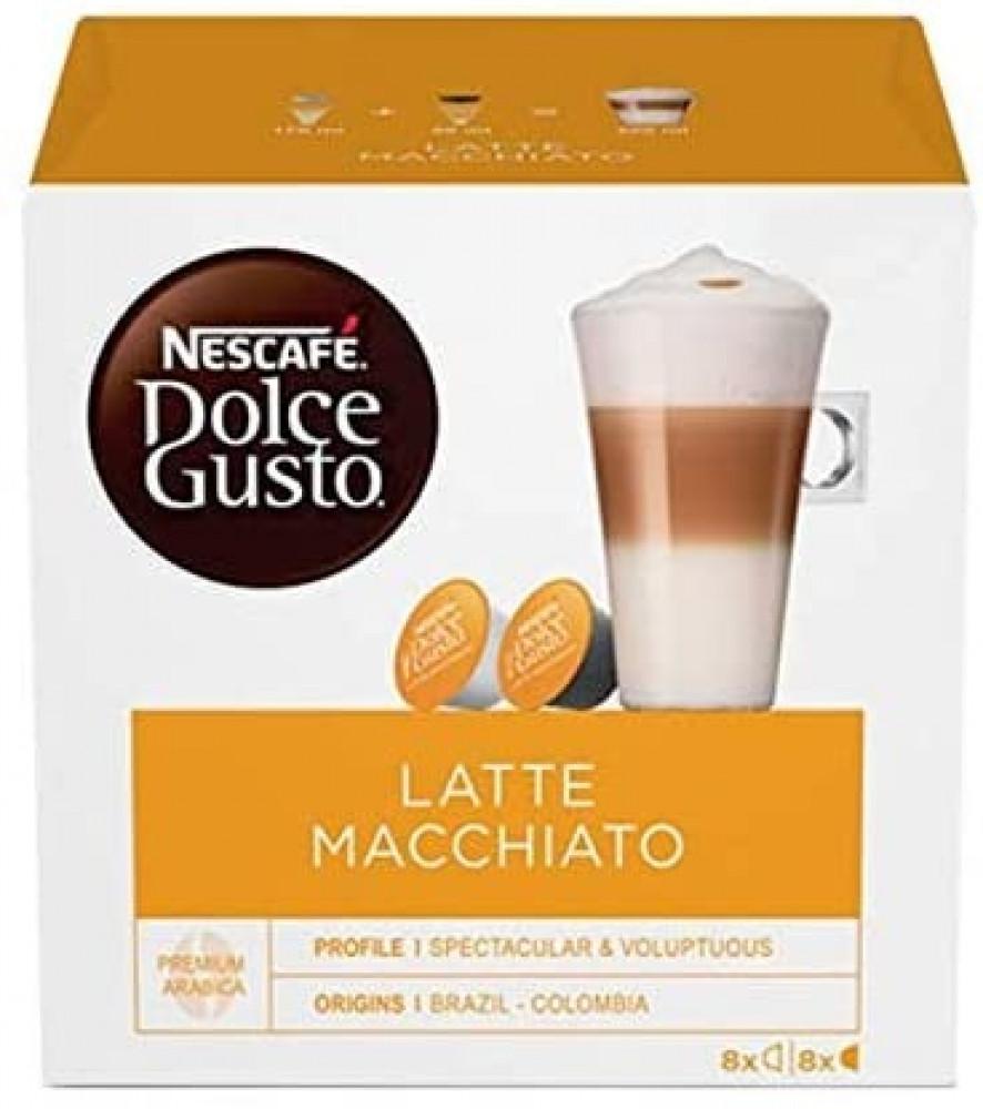 نسكافيه دولشي غوستو كراميل لاتيه ماكياتو dolce gusto latte macchiato