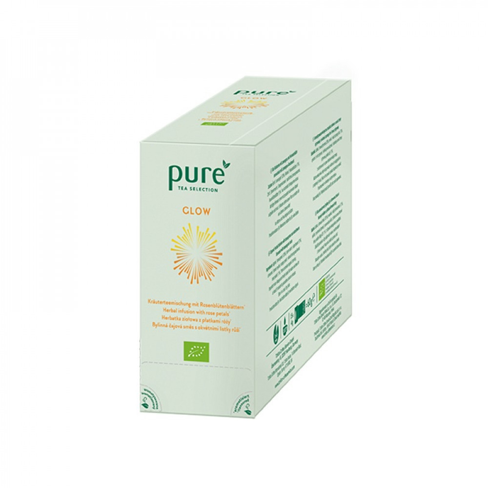 شاي بيور عشبة الليمون وزهور البيلسان Pure Tea Selection - Glow Bio