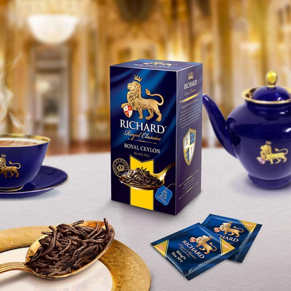 شاي سيلاني ملكي ريتشارد Richard Royal Ceylon