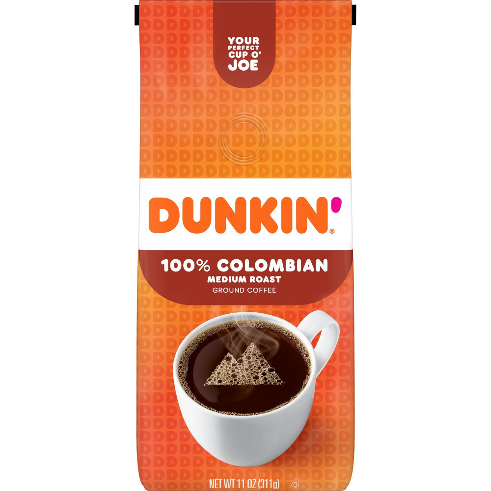 Dunkin Donuts Coffee Colombian قهوة دانكن كولومبي