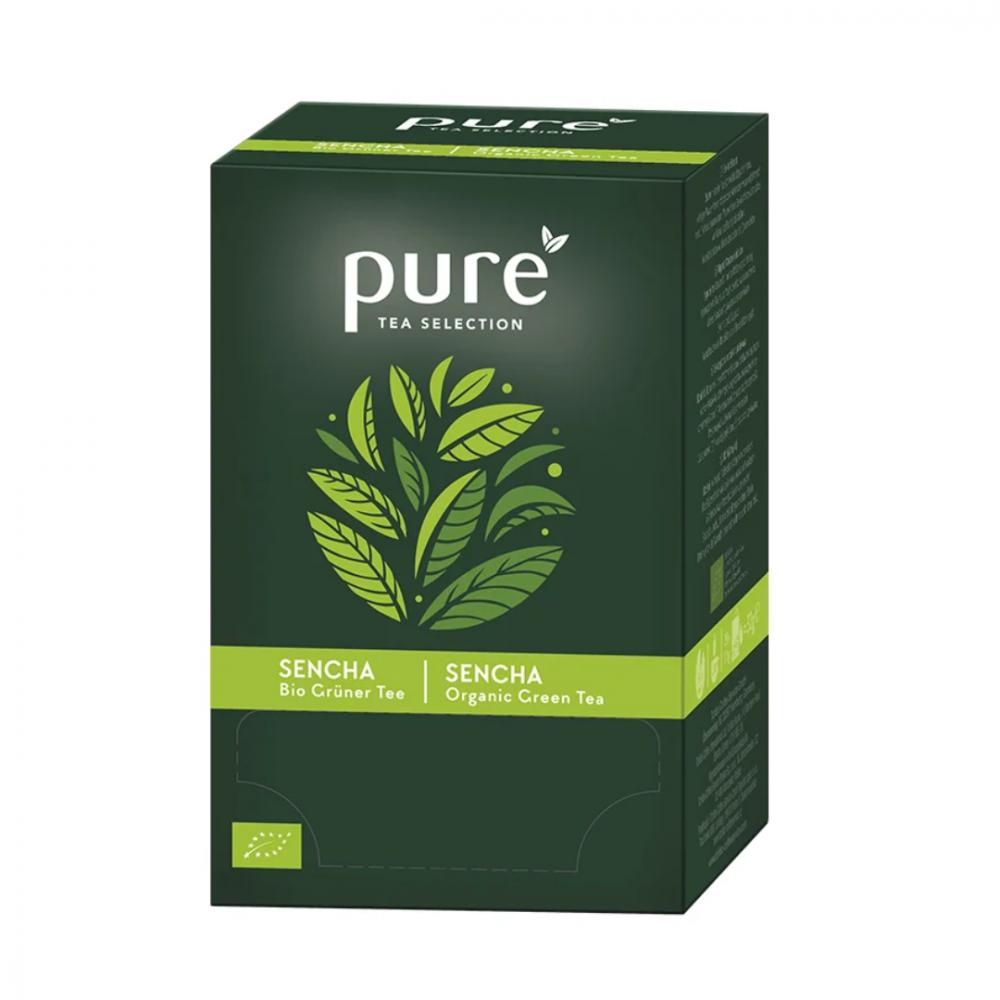 شاي بيور سنشا الاخضر Pure Tea Selection - Sencha Bio