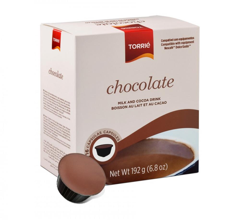 كبسولات شوكولاتة توريه دولشي غوستو Chocolate Dolce Gusto Capsules