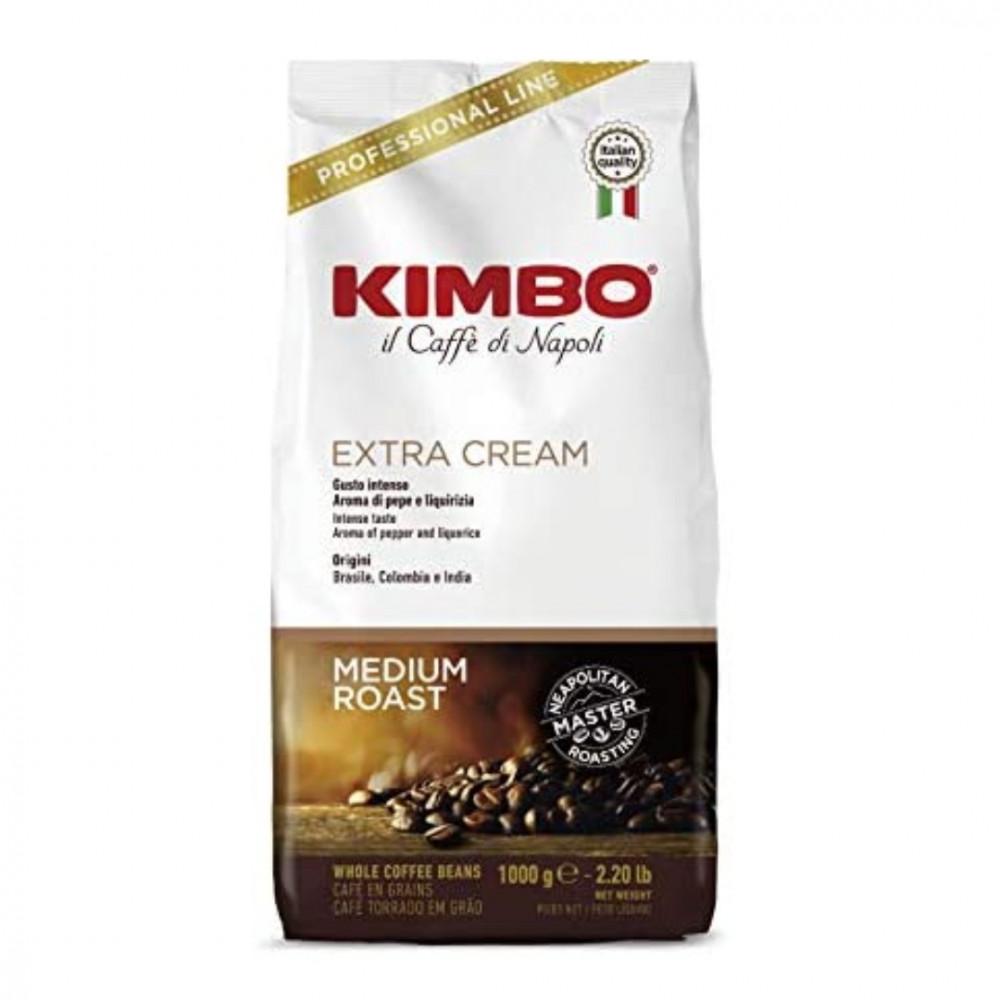 حبوب قهوة كيمبو اكسترا كريم  KIMBO Coffee Beans Extra Cream