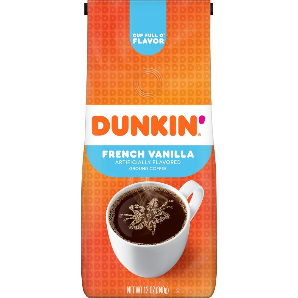 Dunkin Donuts Coffee French Vanilla قهوة دانكن دونت فرنش فانيلا