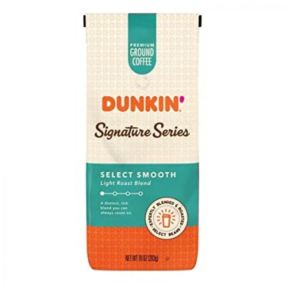 قهوة دانكن الفاخرة خفيفة التحميص dunkin coffee signature smooth