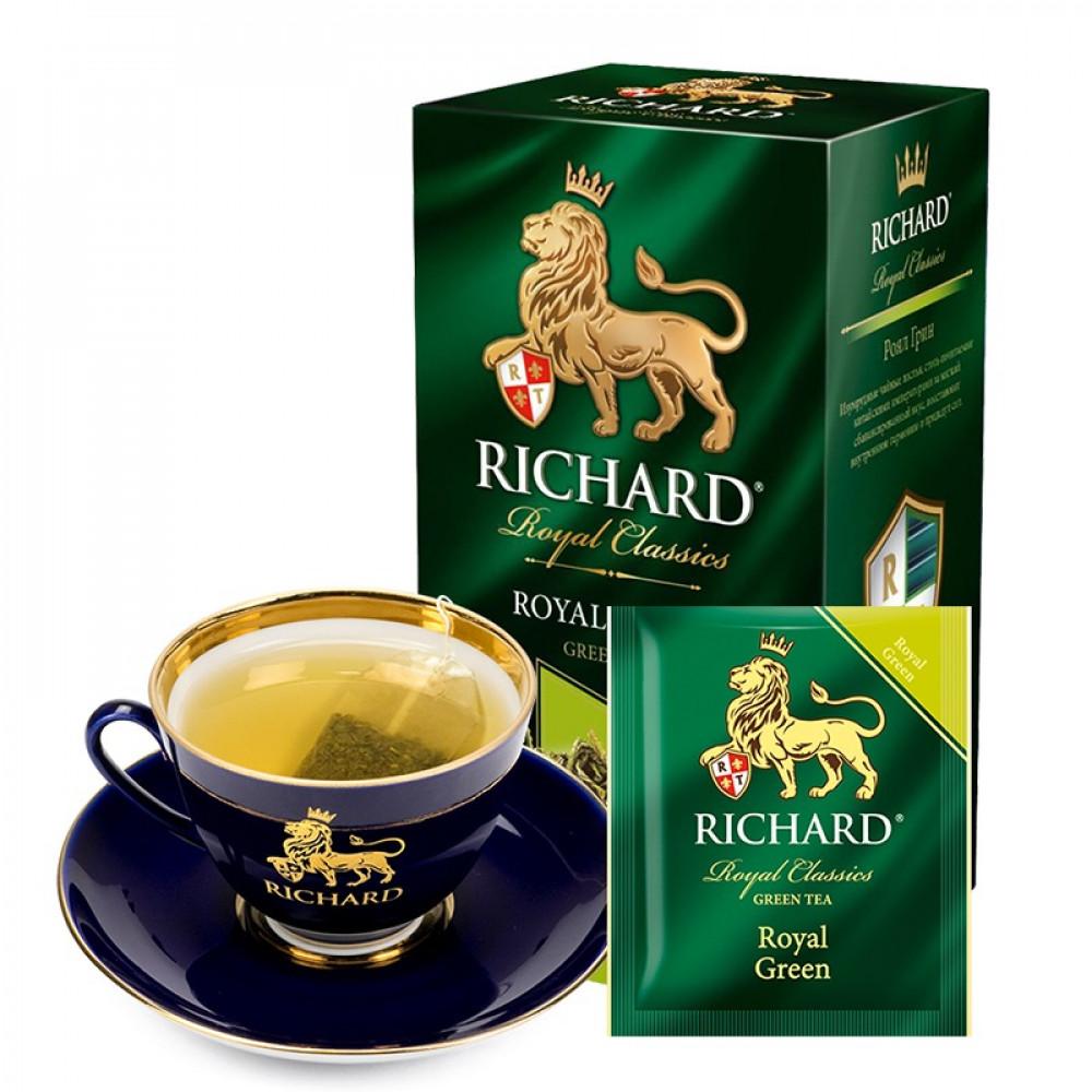 شاي اخضر ملكي ريتشارد  Royal Green Tea Bag Richard