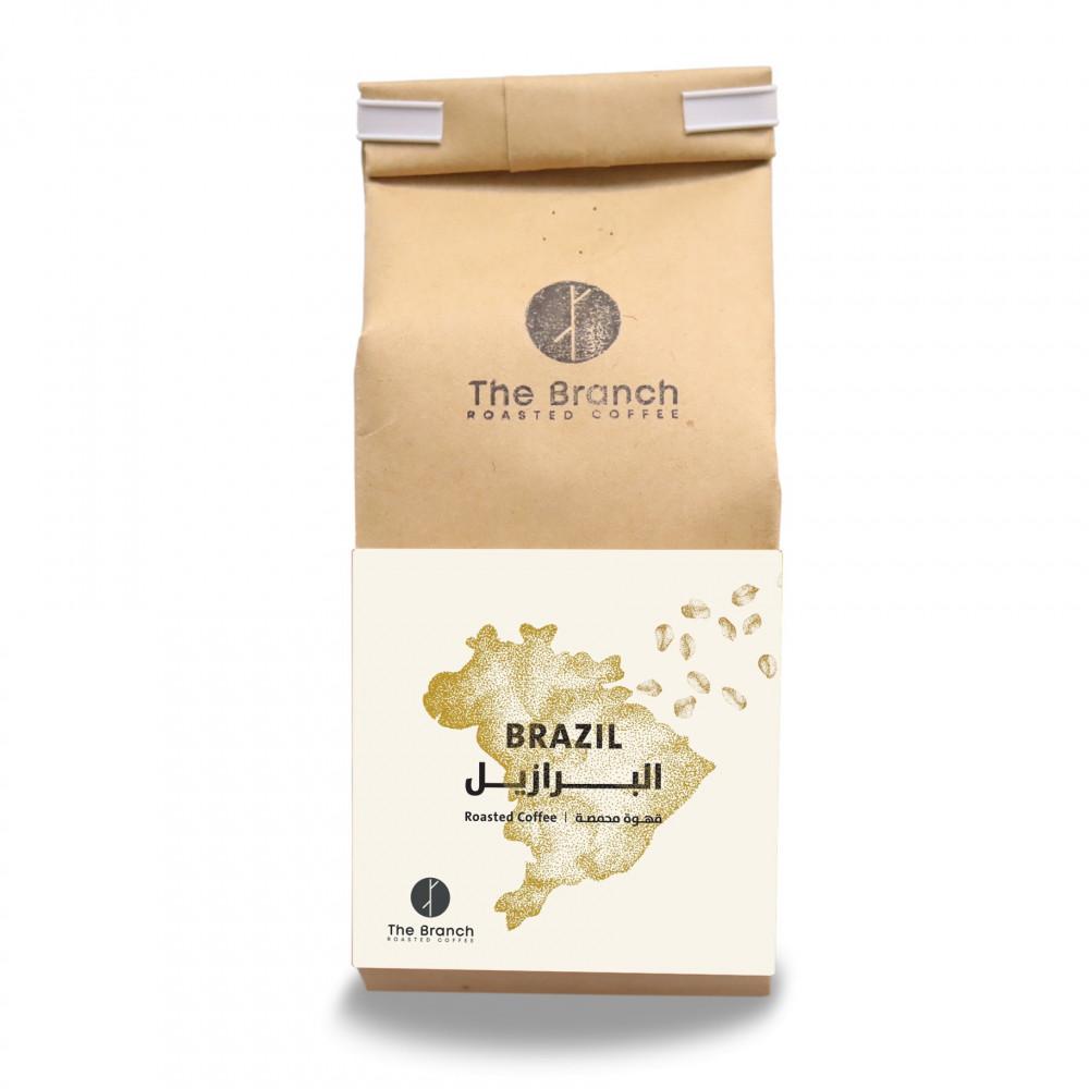 حبوب قهوة ذا برانش البرازيل سانتوس