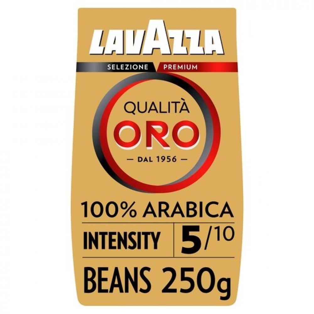 حبوب قهوة لافازا كواليتا اورو 250جم