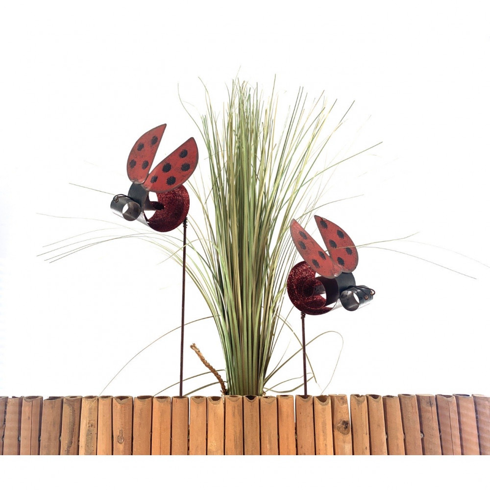 Lady bug Yard Stake