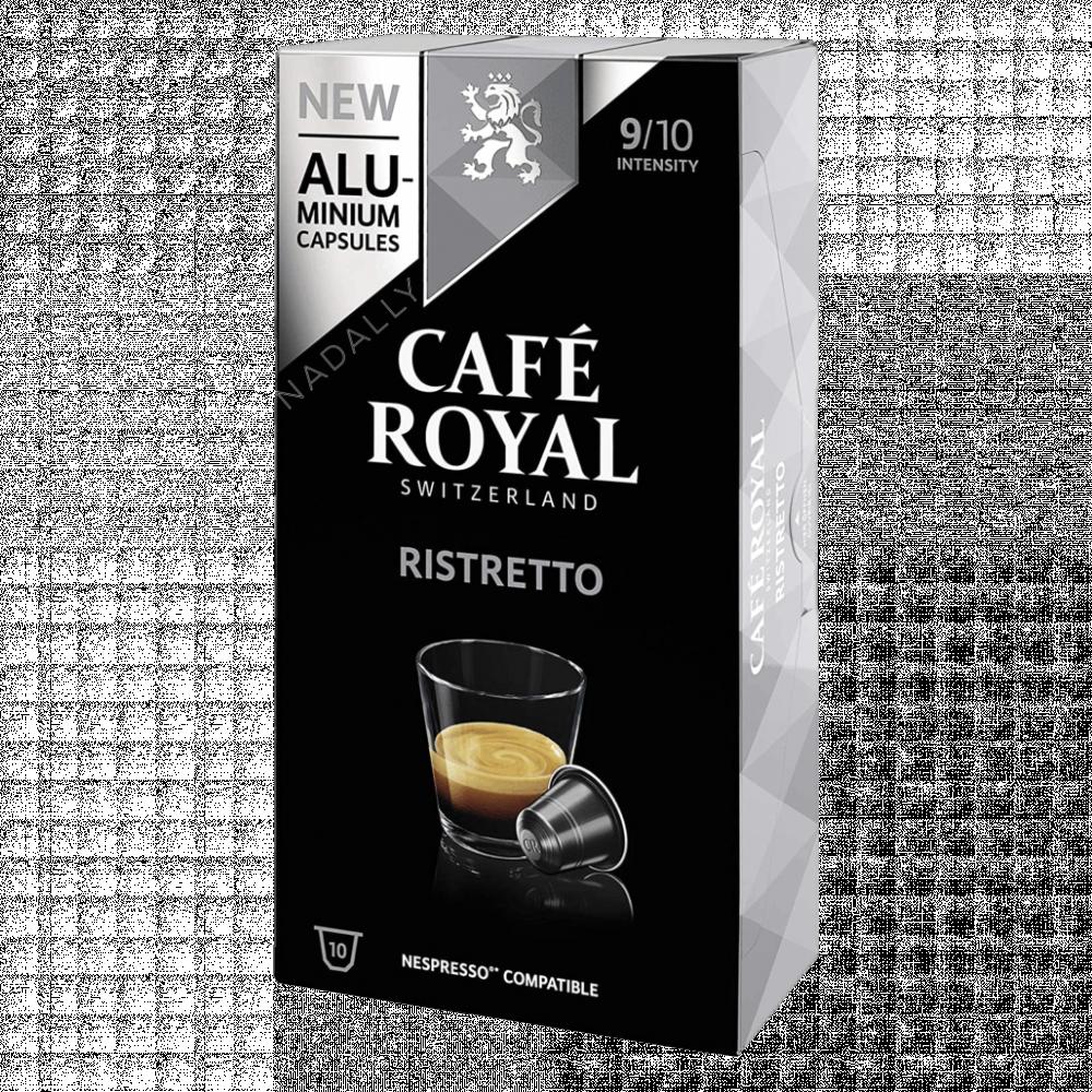 Cafe Royal قهوة كافي رويال ريستريتو كبسولات نسبريسو الأصلية Nespresso