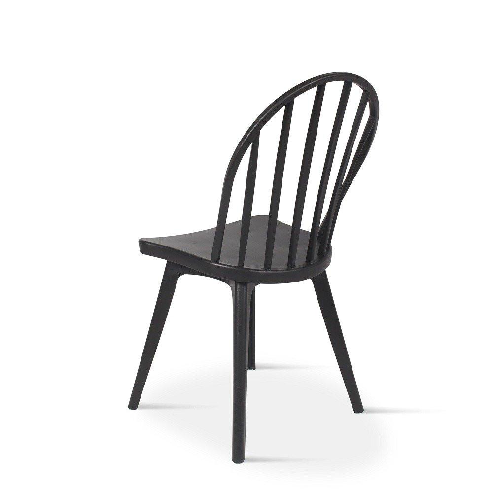 أفضل كرسي حديقة من طقم كراسي 4 قطع أسود في تجارة بلا حدود للأثاث