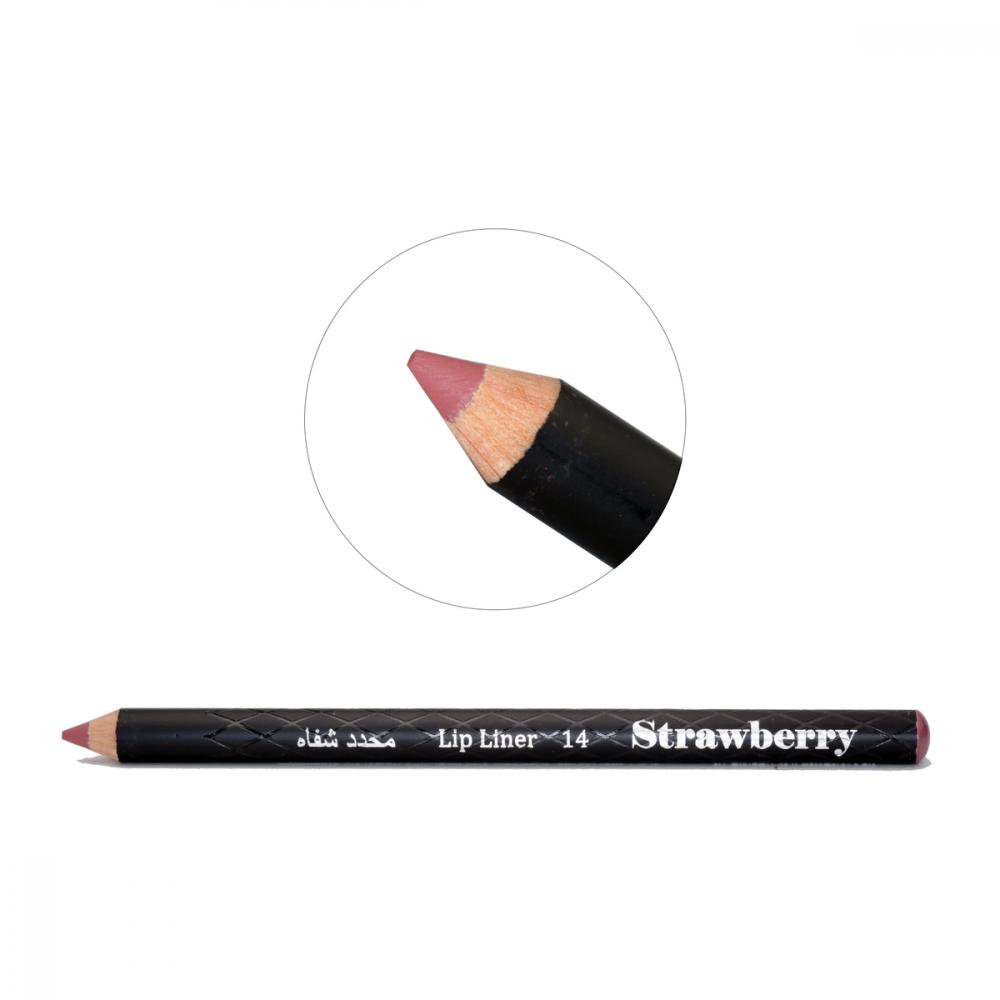 Strawberry  Lip Liner Pencil  No-14