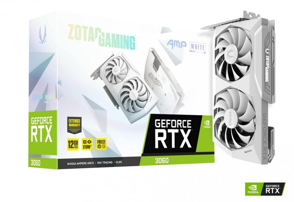 ZOTAC GAMING GeForce RTX 3060 AMP White Edition