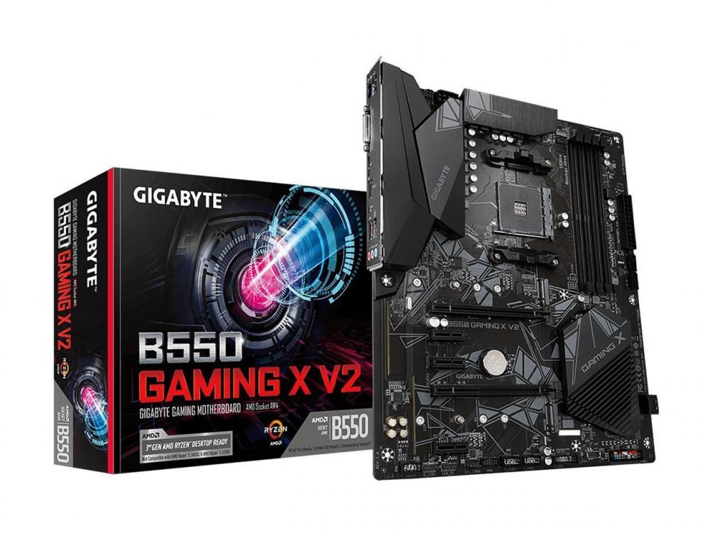 motherboard b550 gigabyte am4 مذربورد