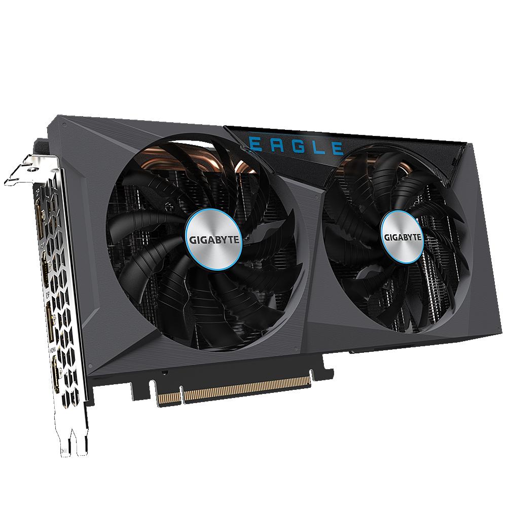 Gigabyte GeForce RTX 3060 TI Eagle OC 8GB GDDR6, Memory Clock 14000 MH