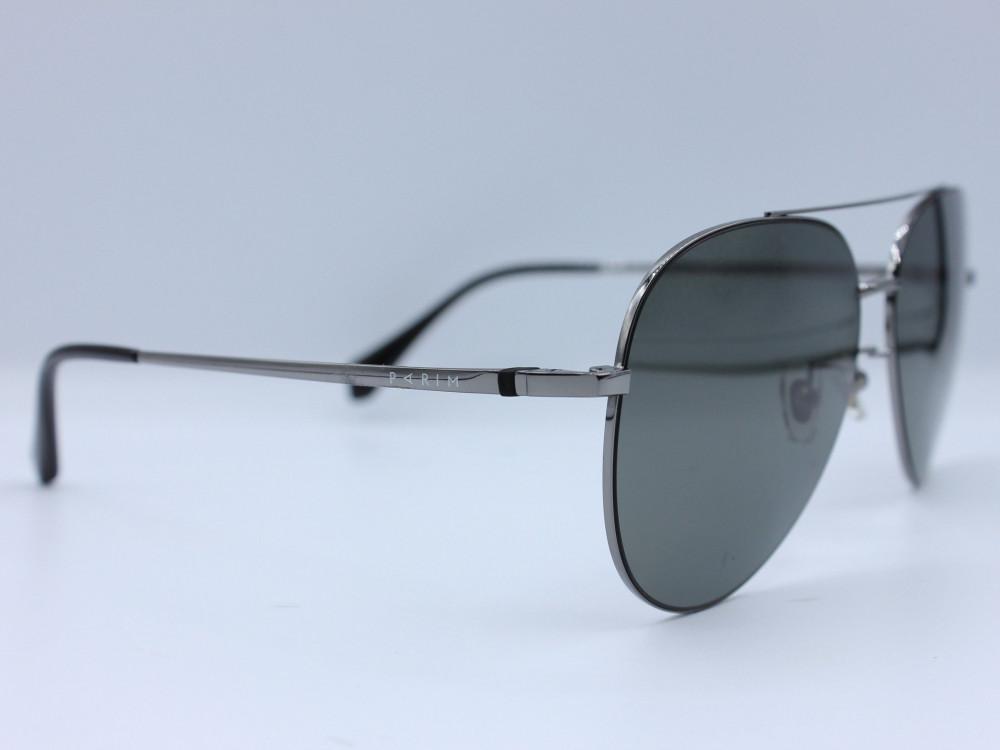 نظاره شمسية كلاسيكية من ماركة PARIM لون العدسة اسود رجالية كلاسيكية