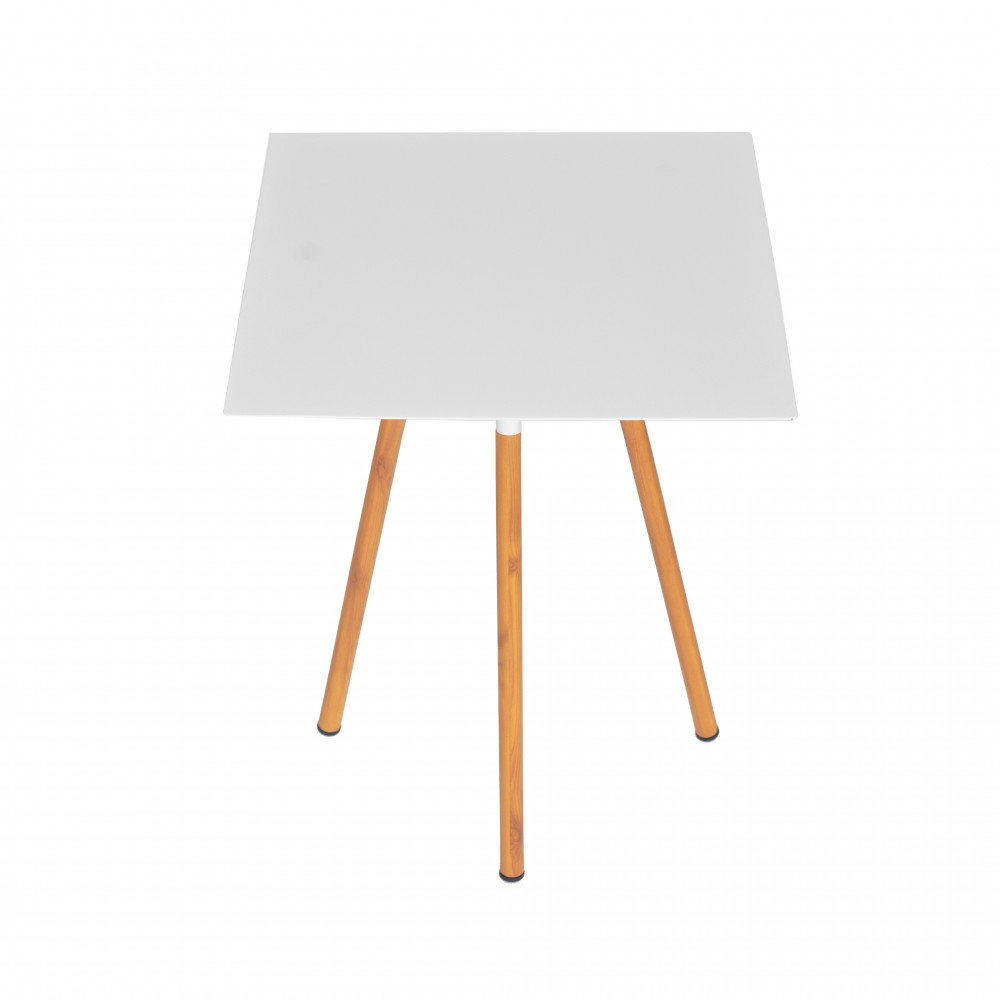 طاولة ضيافة بسطح مربع