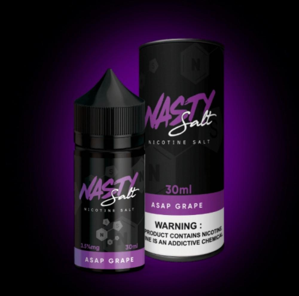 ناستي عنب سولت NASTY ASAP GRAPE - Salt Nicotine