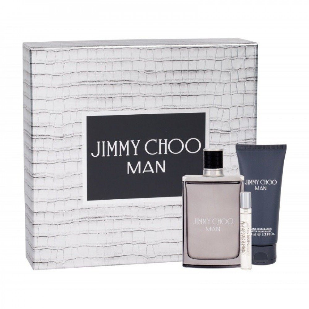 Jimmy Choo Man Eau de Toilette 100ml 3 Gift Setمتجر خبير العطور