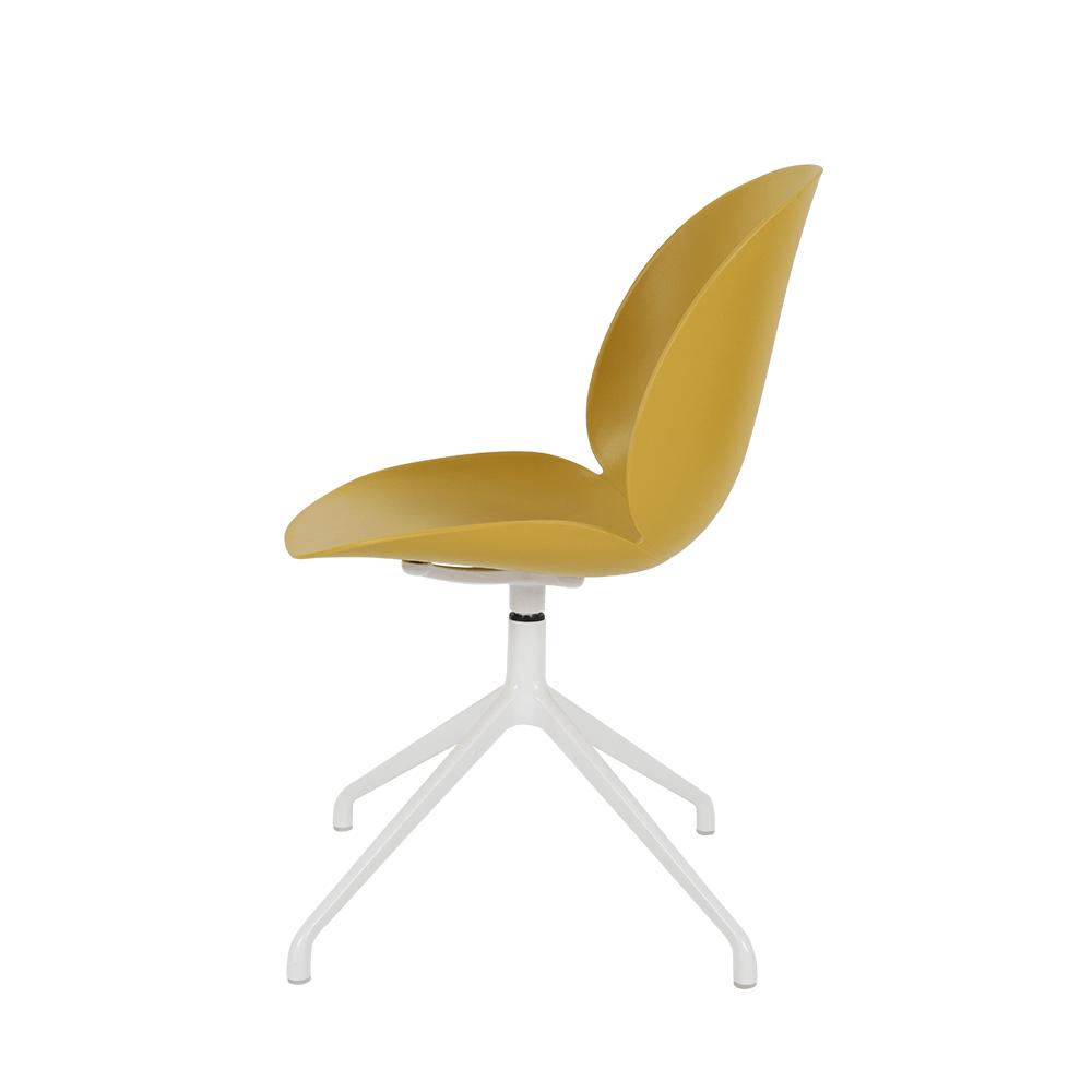 طقم كراسي 4 قطع لون أصفر غامق من متجر مواسم بتصميمه الراقي الجذاب