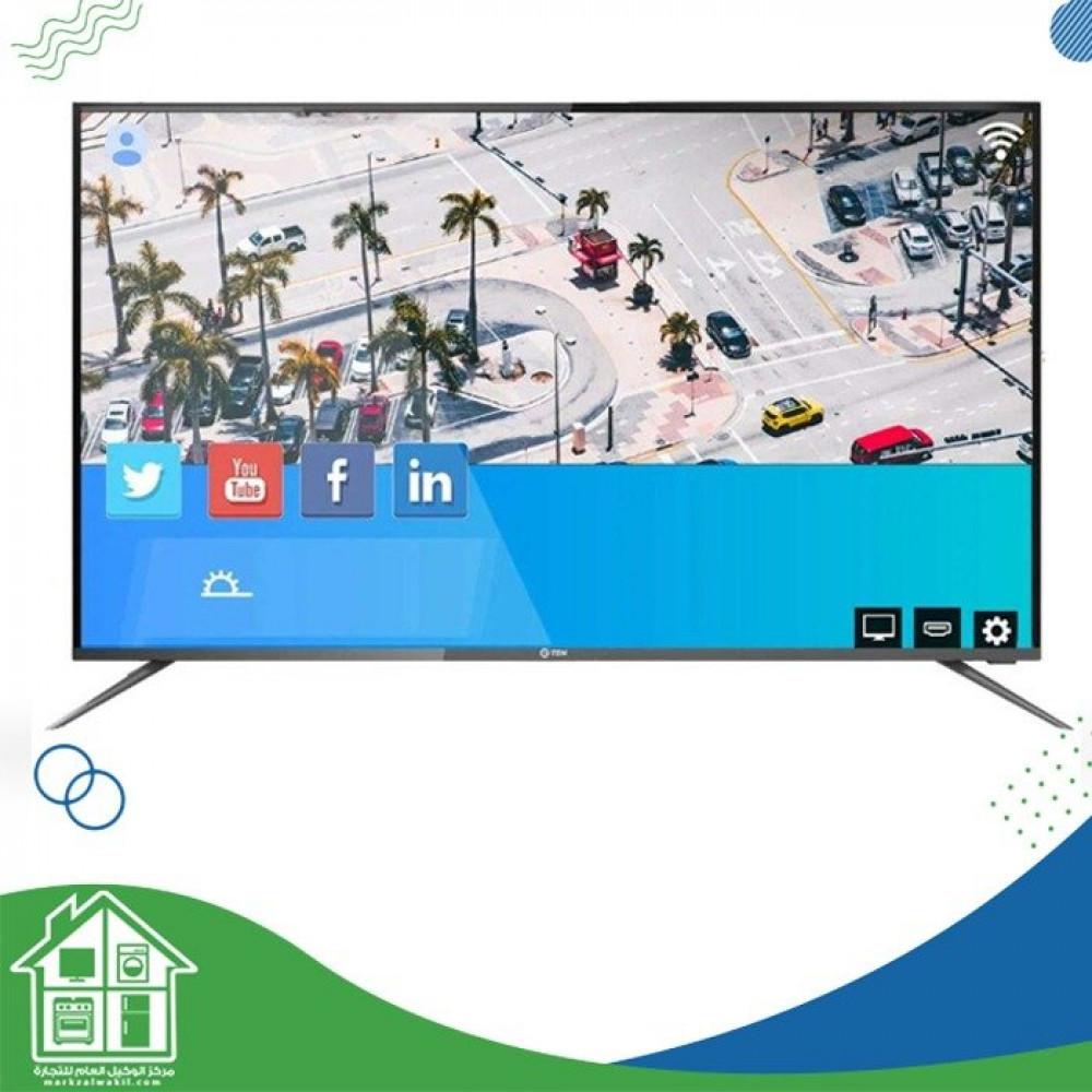 G Ten 58 Inch UHD Smart LED TV - Black