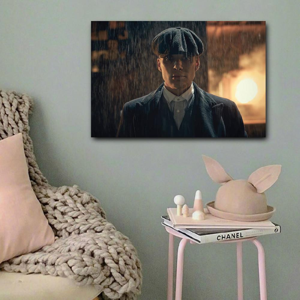 لوحة توماس شيلبي بيكي بلايندرز خشب ام دي اف مقاس 40x60 سنتيمتر