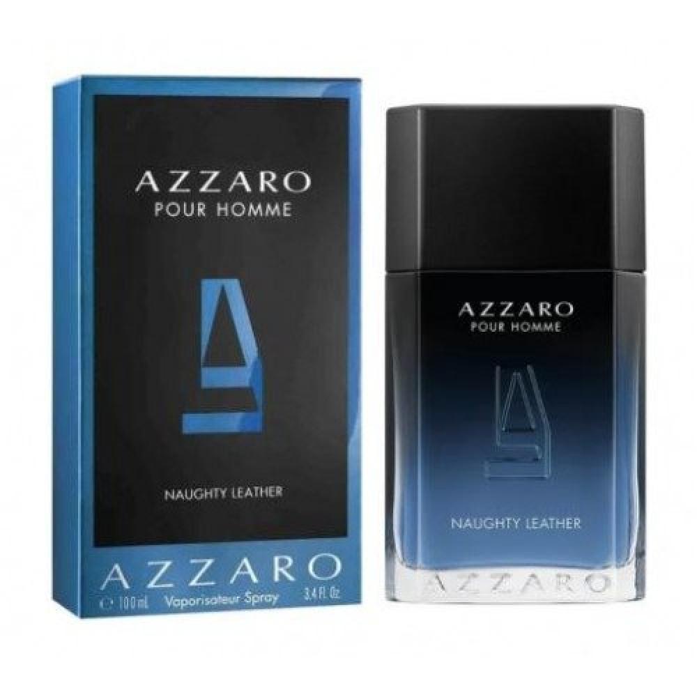 Azzaro Pour Homme Naughty Leather Eau de Toilette متجر خبير العطور